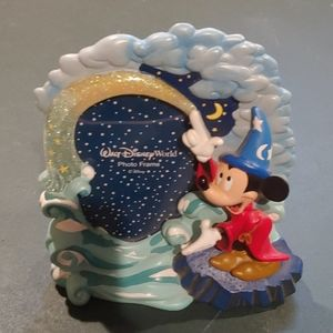 Sorcerer Mickey Resin photo frame
